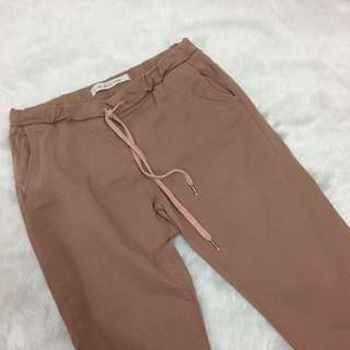 Cotton On Old Rose Cuffed Chinos