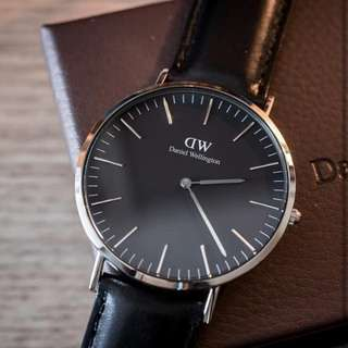 Daniel Wellington Classic Black Series (100% Original)