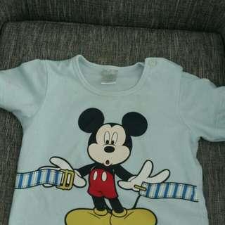 Mickey Shirt 12-18M