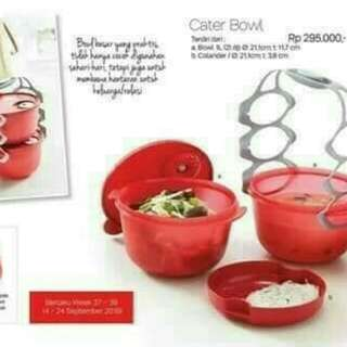 Tupperware Cater Bowl