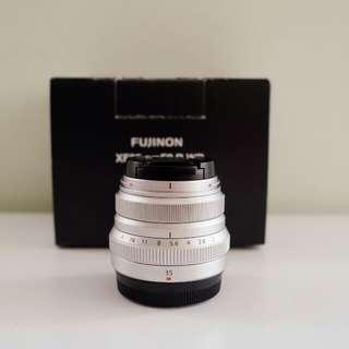 Fujifilm XF35mm F2 R WR Lens