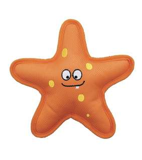 BN KONG Belly Flops Starfish Dog Toy