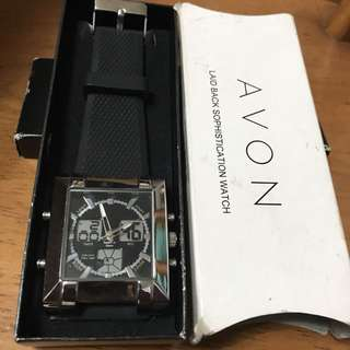 AVON LAID BACK SOPHISTICATION WATCH