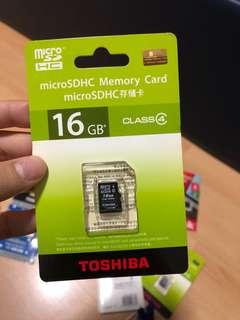 16GB Micro SDHC Memory Card