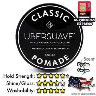(Free Mail) Ubersuave 2.0 Classic Pomade