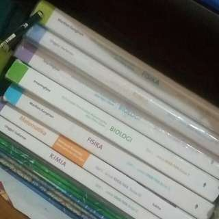 Buku Paket Erlangga Biologi dan Fisika