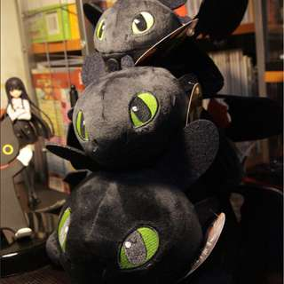 Toothless Soft Toy