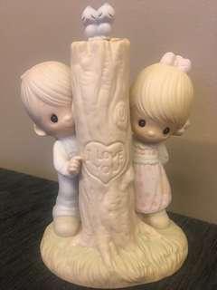 Precious Moments Figurine- Thee I Love