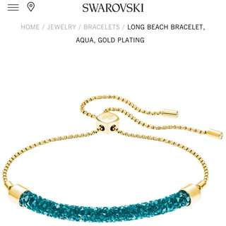 Swarovski - Long beach bracelet