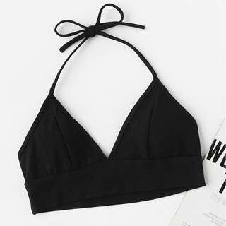 PO: Crop halter top