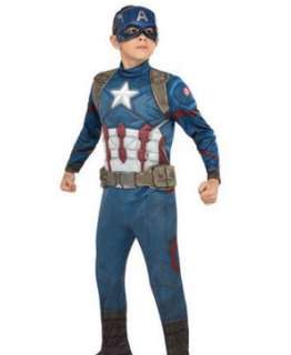 Captain america costume for 2-3yrs old and 12-18 yrs oldi