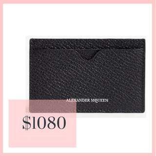 McQ card holder