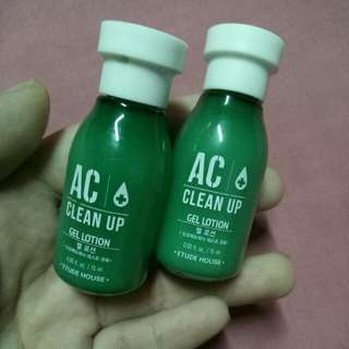 Ac clean up gel lotion 15ml