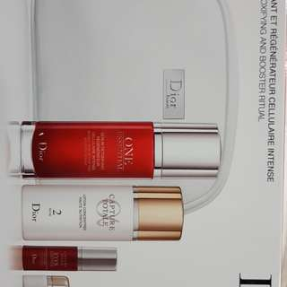 Dior intense skin detoxifying and booster ritual