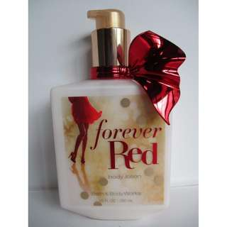 US Authentic Bath & Body Works Body Lotion FOREVER RED 295mL/10oz