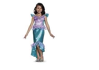 Mermaid Ariel Costume 4-6 & 7-9 yr old