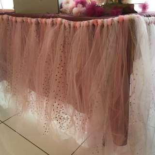 Tutu Table deco