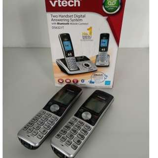 Vtech DS6321T Two Handset Digital Answering System with Bluetooth Mobile Connect