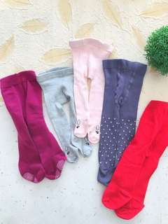 5 pcs Baby Girl Leggings