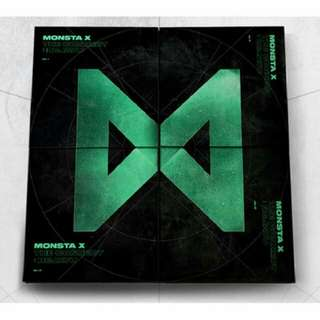 [PREORDER] MONSTA X - The Connect: Dejavu