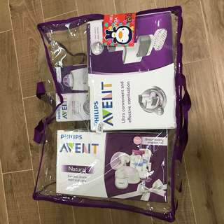 Phillips Avent 4-in-1 sterilizer, milk warmer, single breast milk pump package
