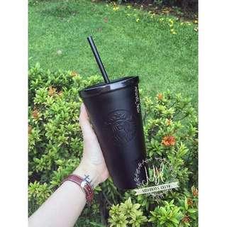Starbuck Black Matte Cold Cup