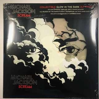 Michael Jackson Scream Glow In Dark Vinyl Record