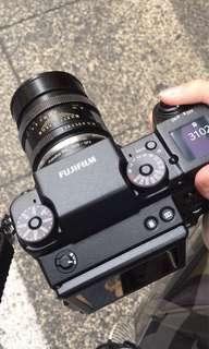 Fujifilm GFX 50S w 63mm 2.8 Lens