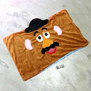「Mr. Potato Head Toy Story Disney 玩具總動員 蛋頭先生 枕套 @公雞漢堡」