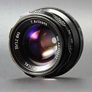 7artisans 35mm F1.2 APS-C Manual Focus Lens (E-Mount/ EOS-M Mount/ FX Mount)