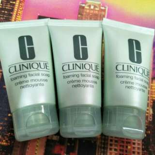 Clinique Foaming Facial Soap