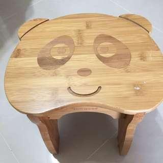🚚 兒童熊貓小椅凳