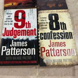 James Patterson 8th confession or 9th Judgement