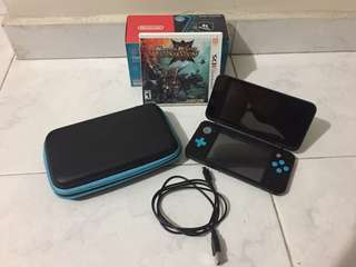 New Nintendo 2DS XL (black turquoise)