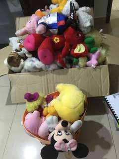Old soft toys