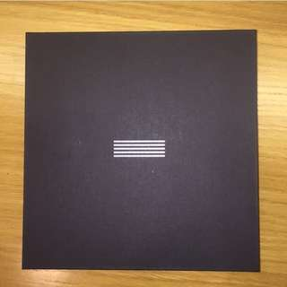 BIGBANG MADE THE FULL ALBUM LIMITED EDITION (COMES WITH CANVAS)