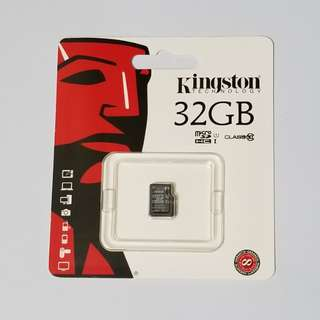 全新 Kingston Micro SD Card 32GB