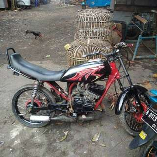 JUAL MOTOR RX KING TAHUN 97 STNK ONLY BPKB KOSONG