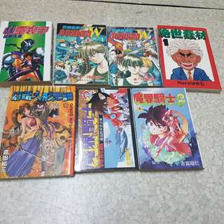 Assorted manga