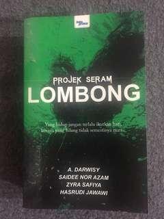 Malay Novel / Novel Melayu Projek Seram Lombong