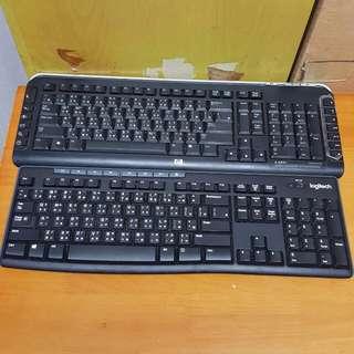 9060 無線鍵盤hp Logitech $10