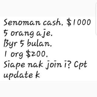 Senoman cash