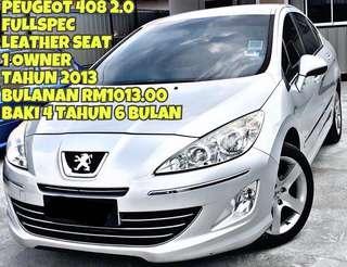 PEUGEOT 408 2.0 SEDAN SAMBUNG BAYAR