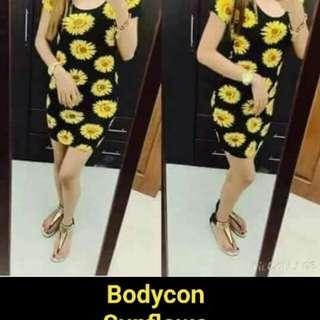 Sunflower bodycon