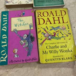 Roald Dahl The Witches or Charlie and Mr Willy Wonka