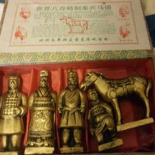 西安兵馬俑紀念品