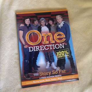 [REPRICED] One Direction Unofficial Book