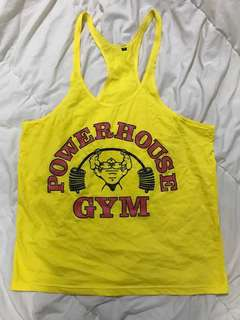 Gym Stringer Tank Top