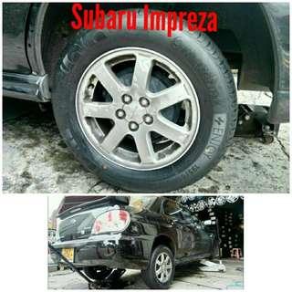 Tyre 195/65 R15 Membat on Subaru Impreza 🐕 Super Offer 🙋♂️