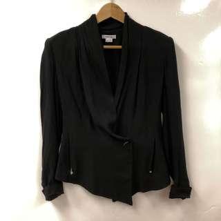 Helmut Lang black thin jacket size 2
